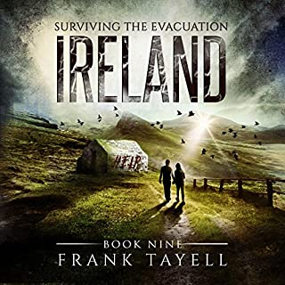 Surviving the Evacuation, Book 9: Ireland audiobook cover art