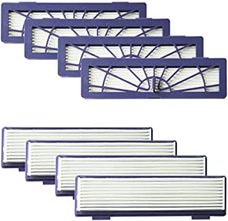 Amyehouse 8-Pack High Performance Filters Accessories for All Neato Botvac Robotics 70e 75 80