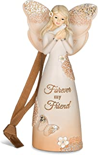 Pavilion Gift Company 19080 Forever Friend Angel Figurine/Ornament, 4-1/2-Inch
