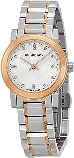 BURBERRY - BU9214 - Reloj para Mujeres, Correa de Acero Inoxidable