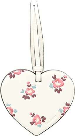 COACH - Printed Heart Ornament