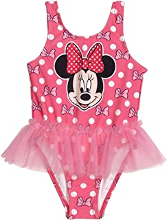4479152cfe Disney Minnie Mouse Girls Swimwear Swimsuit (Baby/Toddler/Little Kid)