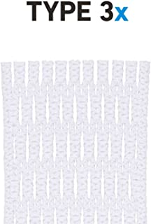 String King Type 3X Semi-Hard Lacrosse Mesh Piece (Assorted Colors)