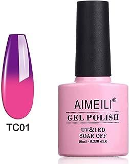 AIMEILI Gel Nail Polish Soak Off UV LED Temperature Color Changing Chameleon - Arabian Nights (TC01) 10ml