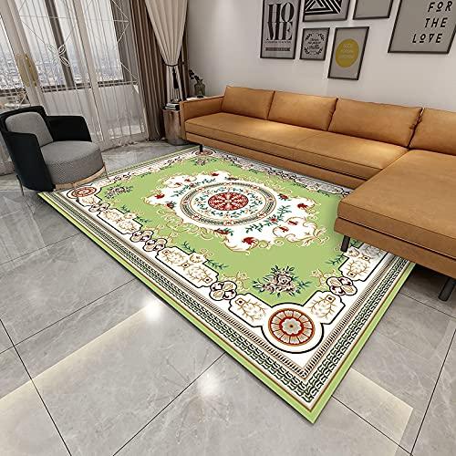 NHhuai Alfombras Dormitorio Modernas Pelo Lavables - Alfombras Impresas Creativas para el hogar, el Dormitorio y la Sala de Estar