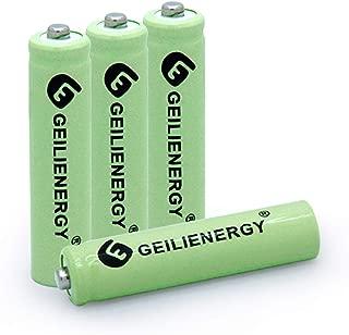 BAOBIAN AAA 600mAh 1.2V NiMH Rechargeable Solar Batteries for Solar Light,Solar Lamp,Garden Lights Green(4 PCS) - coolthings.us