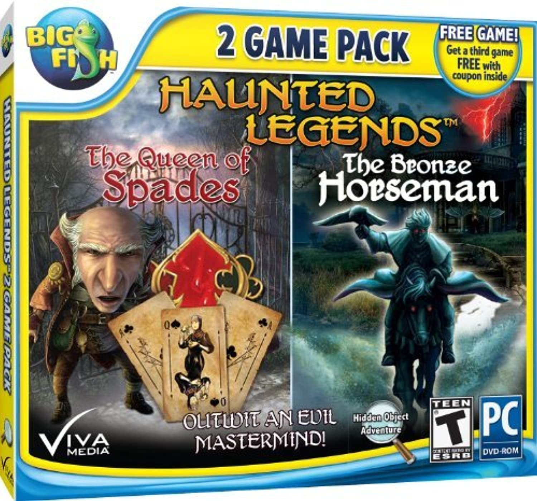 Haunted Legends Pack Jc by Viva Media