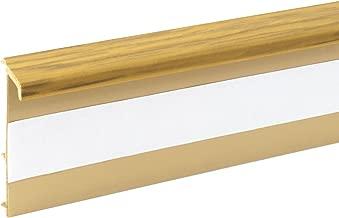SOCKELLEISTEN Verbindungsst/ück EICHE PRESTIGE f/ür 52x28mm Sockelleiste Verbinder zum Dekor Lamiat Dekore