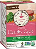 Traditional Medicinals Healthy Cycle, 16 Wrapped Tea Bags, 0.85 oz (Raspberry Leaf)