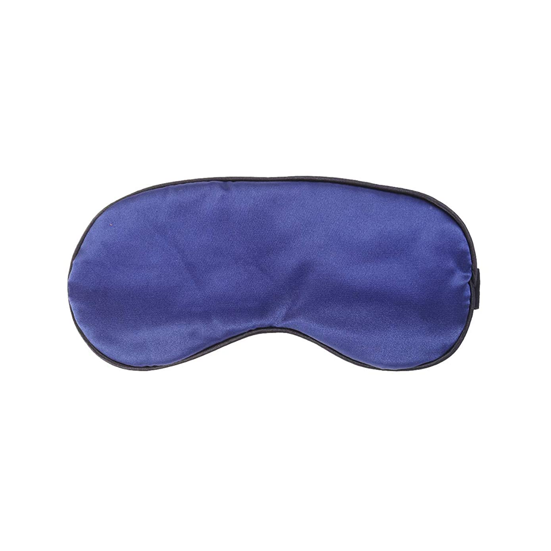 無力延期する胃Healifty 睡眠レストアイマスクパッド入りシェードカバー旅行用の目隠し(ネイビー)