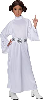 Rubie's Star Wars Child's Deluxe Princess Leia Costume, X-Large