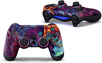 Sololife Graffiti PS4 Controller Skin Stickers for Sony Playstation 4 DualShock Wireless Controller