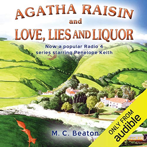 『Agatha Raisin and Love, Lies and Liquor』のカバーアート