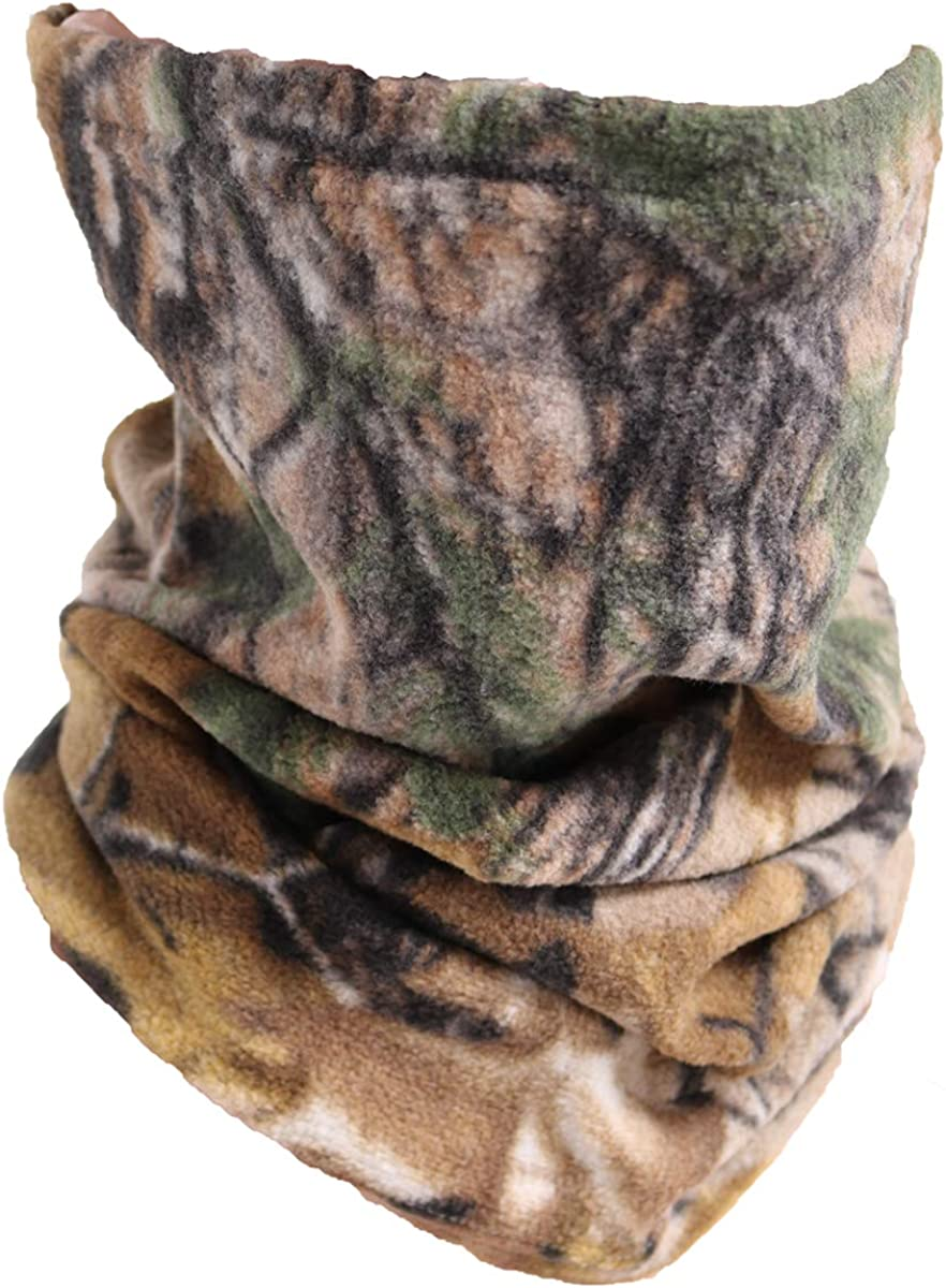 Neck Gaiter Warmer Fleece Ski Face Mask for Cold Weather Winter Outdoor Sports