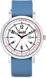 Scrub 30 Medical Watch - Pulsometer, Date Window, 24 Hour Marks, Second Hand, Luminous Hands