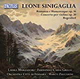 Sinigaglia: Romanza e Humoresque / Concerto per violino / Regenlied - Laura Marzadori