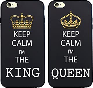 Shark King and Queen Matching Couple Cases for (Queen:iphone6 Plus-5.5inch)