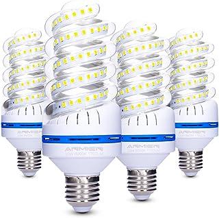 Bro.Light Bombillas LED E27, No Regulable, 20W (Equivalente a 150 vatios), Blanca Fria 6000K, 360 Degree Ángulo de haz, Bombillas LED de 1700 Lumens, AC 85-265 volts, 4-Pack