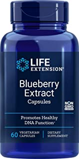 Life Extension Blueberry Extract, 60 vegetarian capsules (Package may vary)