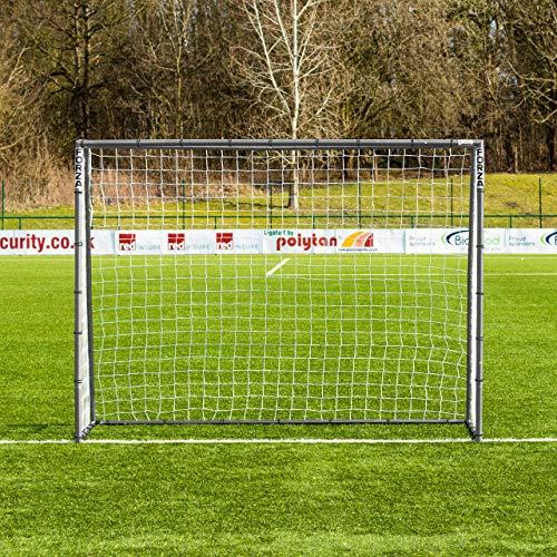 FORZA Fußballtore – die komplette Reihe – Tore mit einem Sperrsystem, Match Tore und Steel42 Tore (2,4m x 1,8m Steel42 Tor)