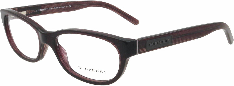 Burberry BE2106 Eyeglasses3224 Striped purple51mm