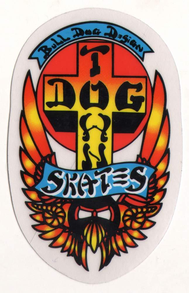 Dogtown Skates Skateboard Sticker USA Cross 5.5cm high approx surf skate sk8