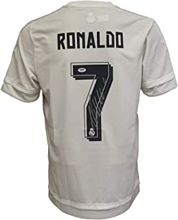 Christiano Ronaldo Autographed Signed Real Madrid White & Grey Jersey - PSA/DNA Certified Authentic