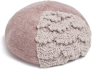 JYBLM French Beret for Women Classic Winter Autumn Artist Beanie Hat Girls Soft Warm Cap, 3 Colors (Color : Khaki)
