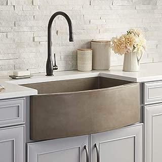 Farmhouse Quartet Kitchen Sink in Earth