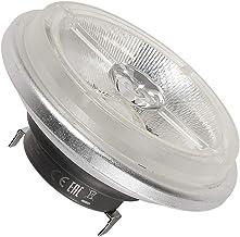SLV 551634 G5.3 19 W 4000 k 140 Degree Metal LED AR111 CREE XT-E NV-Reflector Lamp, Silver/Transparent