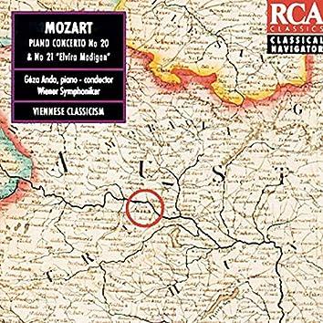 Mozart: Piano Concertos No. 20+21