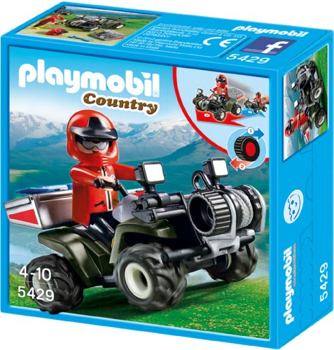 Playmobil 5429 - Bergrettungs-Quad
