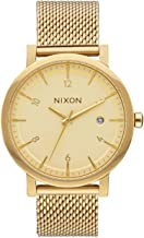Nixon Men's The Rollo 38 SS All Gold Watch