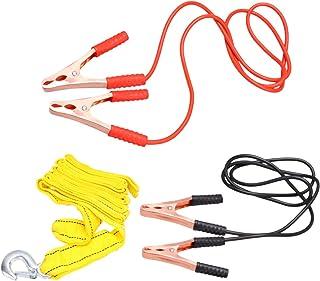 Garneck Cabo jumper de bateria, cabo de impulsionador de bateria, braçadeira de carregamento de bateria para a maioria dos...