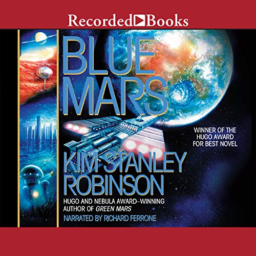 Blue Mars audiobook cover art