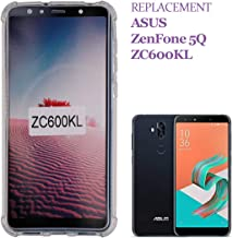 SWARK Cases Compatible with ASUS ZenFone 5Q ZC600KL Case Soft Transparent TPU Silicone Air Film Design Drop Protection Material Anti Shock Anti Scratch Protective Cover