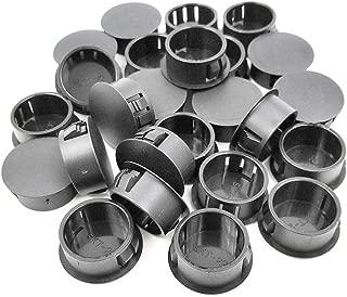 Jhe Plastic Locking Hole Plugs Panel Hole Home Furniture Fastener, Plastic Pipe Choke Plug 7/8