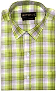 Brooklyn Bridge 100% Cotton Formal Shirt Full Sleeves for Men