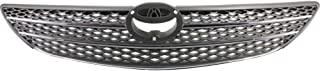 Grille Compatible with Toyota Camry 02-04 Painted-Gray LE/XLE Models