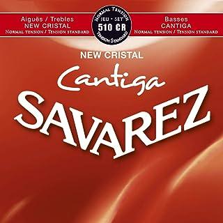 Savarez Cuerdas para Guitarra Clásica New Cristal Cantiga juego 510CR Tensión normal