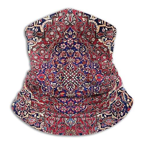 Kashan Central Perzische zijde tapijt gooien kussen microvezel nek Warmer vissen ski beschermende nek sjaal