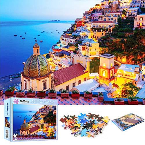 Puzzle 1000 Pezzi (70x50cm),Jigsaw Puzzle per Adulti Puzzle Bambini,puzzle grande adulti,jigsaw puzzle adulti,puzzle creativo,giocattolo puzzle antistress