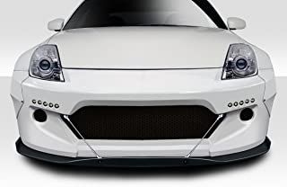Extreme Dimensions Duraflex Replacement for 2003-2008 Nissan 350Z Z33 RBS Front Bumper - 1 Piece
