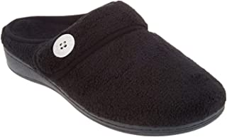 Vionic Women's Indulge Sadie Mule Slipper - Ladies Slipper Concealed Orthotic Support