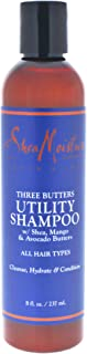 Shea Moisture Three Butters Utility Shampoo by Shea Moisture for Men - 8 oz Shampoo, 237 ml