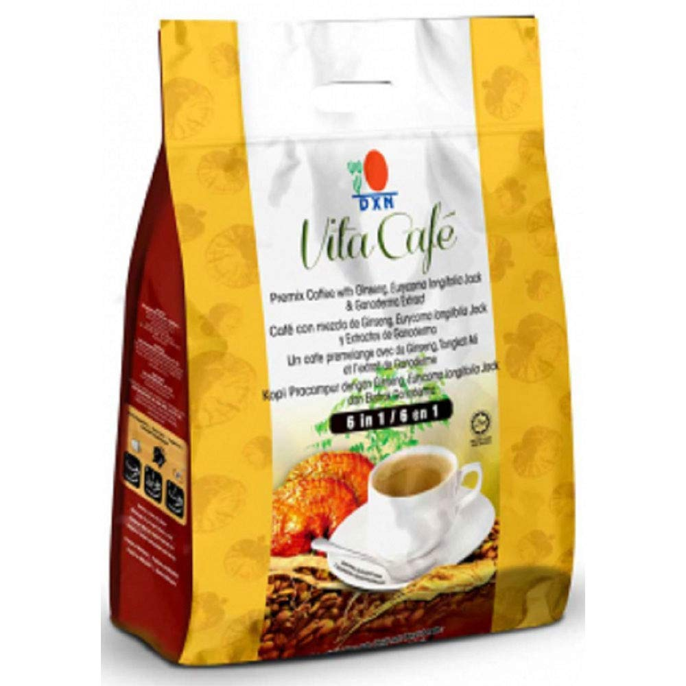 DXN Limited time trial price 5 Packs Vita Cafe 6 Coffee in Sachets 20 1 SEAL limited product Ganoderma
