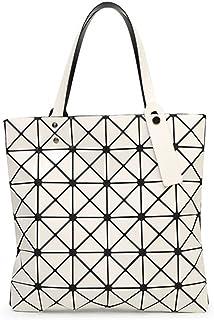 15 Colores Mujeres Geometría Bao Tote Shimmer Bolso Diamante Láser Enrejado Shopper Bolso Plegable Bolsas de Hombro