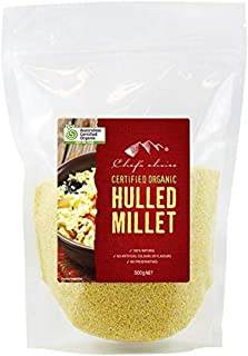 Chef's Choice Organic Hulled Millet, 500 g