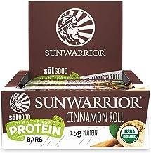 Sunwarrior Sol Good Protein Bars Cinnamon Roll 684 g Estimated Price : £ 42,52