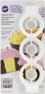 wilton two tone cupcake insert